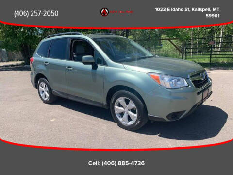 2014 Subaru Forester for sale at Auto Solutions in Kalispell MT