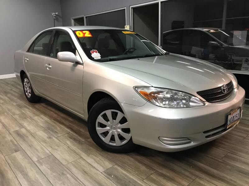 2002 Toyota Camry for sale at Golden State Auto Inc. in Rancho Cordova CA