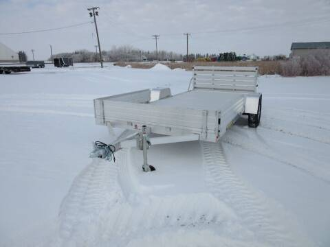 2022 Aluma 8114 BT for sale at Nore's Auto & Trailer Sales - Utility Trailers in Kenmare ND