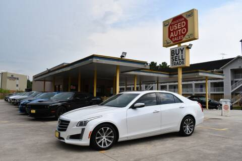2016 Cadillac CTS for sale at Houston Used Auto Sales in Houston TX
