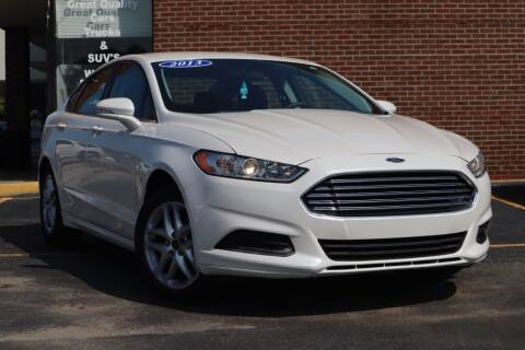 2013 Ford Fusion for sale at Hobart Auto Sales in Hobart IN