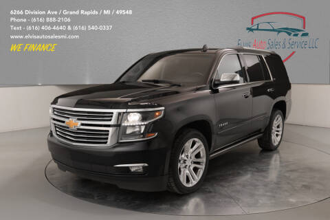 2015 Chevrolet Tahoe for sale at Elvis Auto Sales LLC in Grand Rapids MI