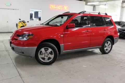 2004 Mitsubishi Outlander for sale at R n B Cars Inc. in Denver CO