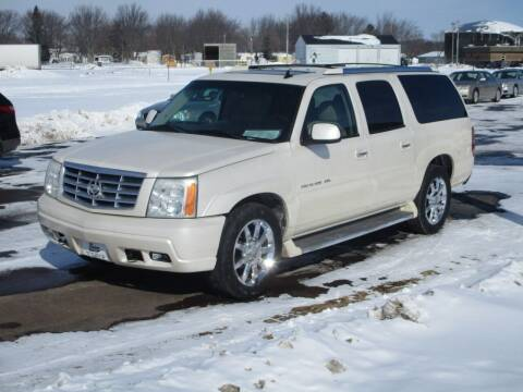 2006 Cadillac Escalade ESV for sale at KAISER AUTO SALES in Spencer WI