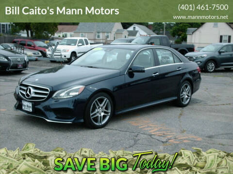 2014 Mercedes-Benz E-Class for sale at Bill Caito's Mann Motors in Warwick RI