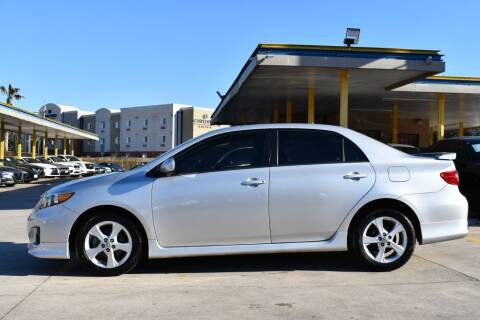 2013 Toyota Corolla for sale at Houston Used Auto Sales in Houston TX