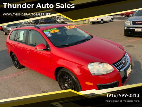 2009 Volkswagen Jetta for sale at Thunder Auto Sales in Sacramento CA