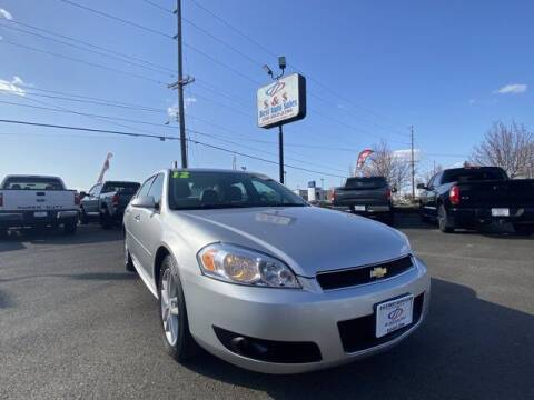 2012 Chevrolet Impala for sale at S&S Best Auto Sales LLC in Auburn WA