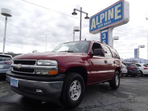 2006 Chevrolet Tahoe for sale at Alpine Auto Sales in Salt Lake City UT