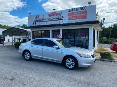 2009 Honda Accord for sale at Mechanicsville Auto Sales in Mechanicsville VA