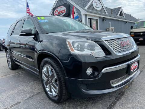 2012 GMC Acadia for sale at Cape Cod Carz in Hyannis MA