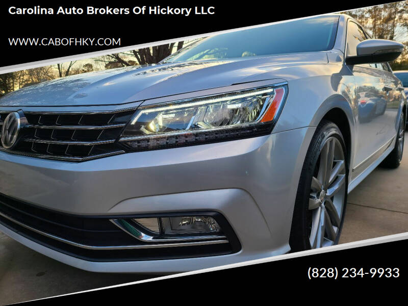 2016 Volkswagen Passat for sale at Carolina Auto Brokers of Hickory LLC in Newton NC