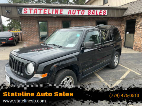 2012 Jeep Patriot for sale at Stateline Auto Sales in South Beloit IL