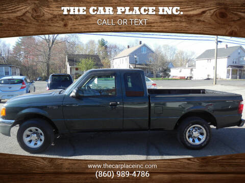 2004 Ford Ranger for sale at THE CAR PLACE INC. in Somersville CT