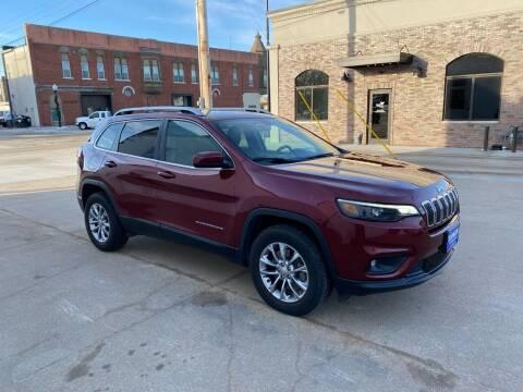 2019 Jeep Cherokee for sale at Kobza Motors Inc. in David City NE