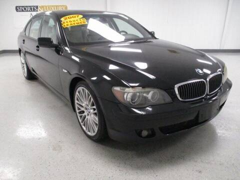 2007 BMW 7 Series for sale at Sports & Luxury Auto in Blue Springs MO