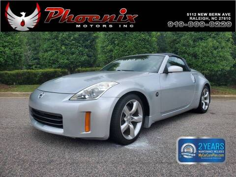 2007 Nissan 350Z for sale at Phoenix Motors Inc in Raleigh NC