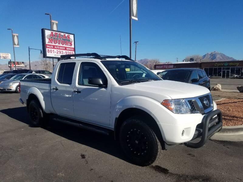 2017 Nissan Frontier for sale at ATLAS MOTORS INC in Salt Lake City UT