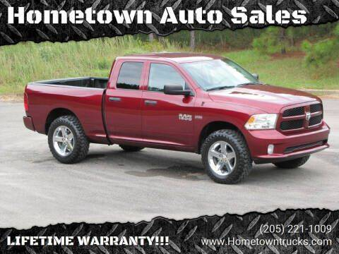 2017 RAM Ram Pickup 1500 for sale at Hometown Auto Sales - Trucks in Jasper AL