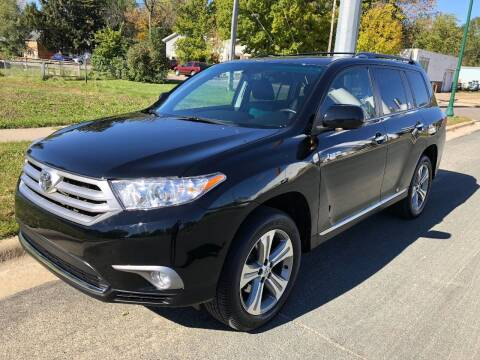 2013 Toyota Highlander for sale at ONG Auto in Farmington MN