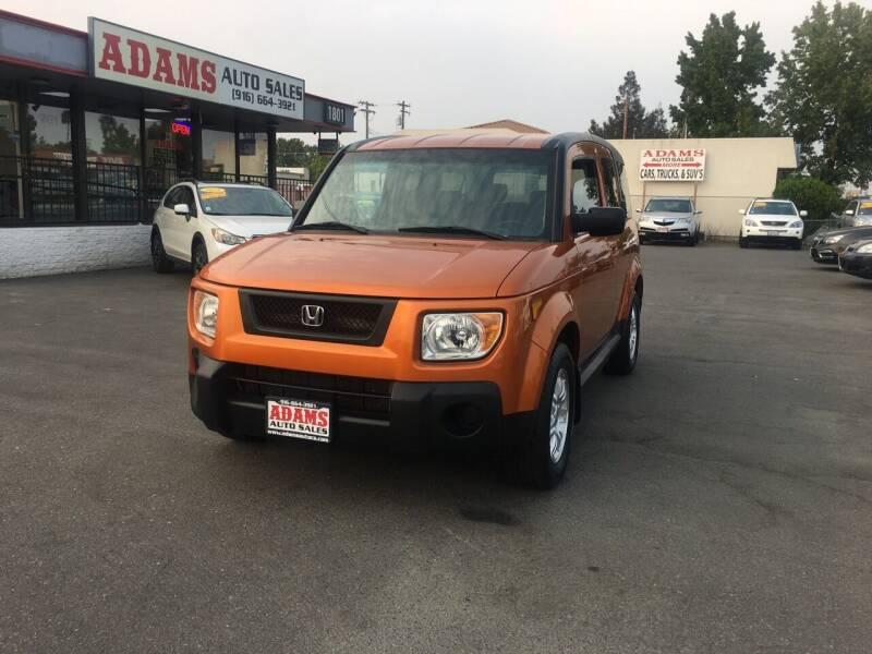 2006 Honda Element for sale at Adams Auto Sales in Sacramento CA