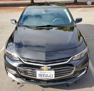 2016 Chevrolet Malibu for sale at ALL CREDIT AUTO SALES in San Jose CA
