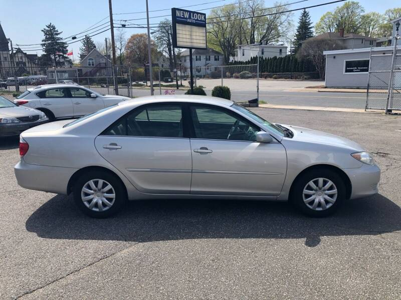 2005 Toyota Camry for sale at New Look Auto Sales Inc in Indian Orchard MA