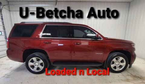2017 Chevrolet Tahoe for sale at Ubetcha Auto in St. Paul NE