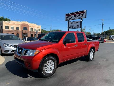 2014 Nissan Frontier for sale at Auto Sports in Hickory NC