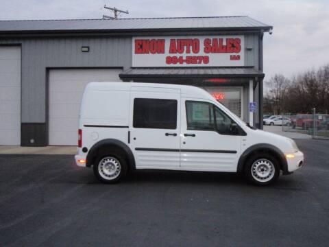 2013 Ford Transit Connect for sale at ENON AUTO SALES in Enon OH