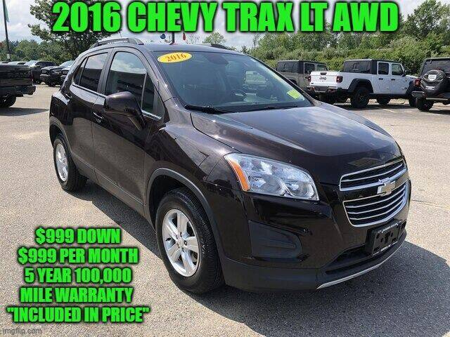 2016 Chevrolet Trax for sale at D&D Auto Sales, LLC in Rowley MA