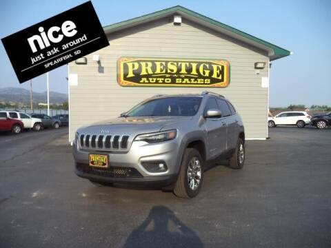 2019 Jeep Cherokee for sale at PRESTIGE AUTO SALES in Spearfish SD
