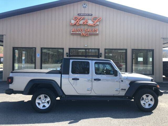 2020 Jeep Gladiator for sale at K & L AUTO SALES, INC in Mill Hall PA