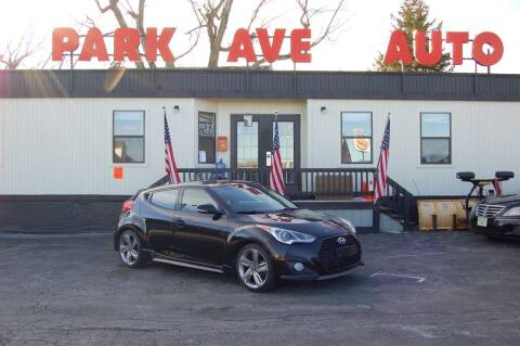 2013 Hyundai Veloster for sale at Park Ave Auto Inc. in Worcester MA