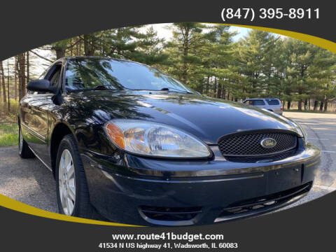2007 Ford Taurus for sale at Route 41 Budget Auto in Wadsworth IL