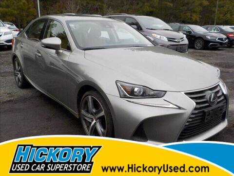 2018 Lexus IS 300 for sale at Hickory Used Car Superstore in Hickory NC
