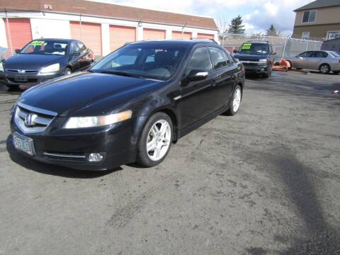 2008 Acura TL for sale at ARISTA CAR COMPANY LLC in Portland OR