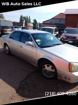2003 Cadillac DeVille for sale at WB Auto Sales LLC in Barnum MN