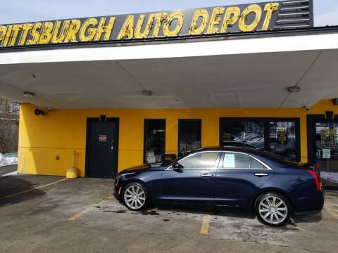 2018 Cadillac ATS for sale at Pittsburgh Auto Depot in Pittsburgh PA
