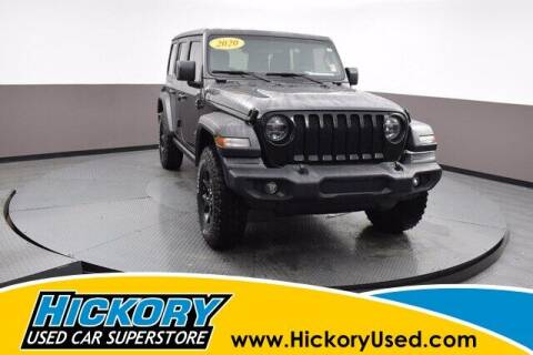 2020 Jeep Wrangler Unlimited for sale at Hickory Used Car Superstore in Hickory NC