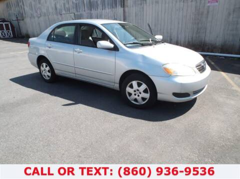 2006 Toyota Corolla for sale at Lee Motor Sales Inc. in Hartford CT