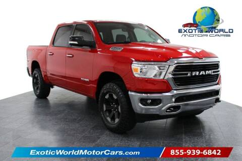 2020 RAM Ram Pickup 1500 for sale at Exotic World Motor Cars in Addison TX
