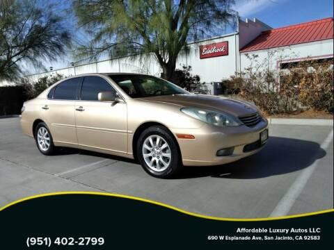 2004 Lexus ES 330 for sale at Affordable Luxury Autos LLC in San Jacinto CA