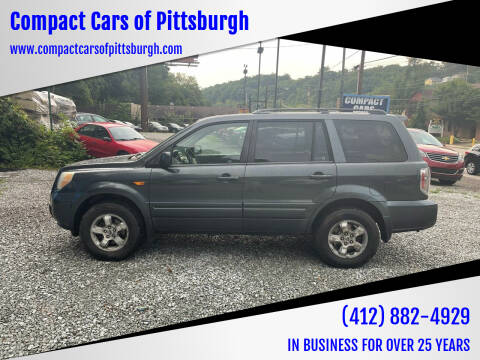 2006 Honda Pilot for sale at Compact Cars of Pittsburgh in Pittsburgh PA