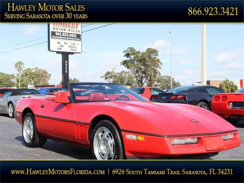 1990 Chevrolet Corvette for sale at Hawley Motor Sales in Sarasota FL