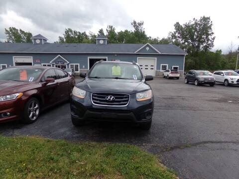 2010 Hyundai Santa Fe for sale at Pool Auto Sales Inc in Spencerport NY