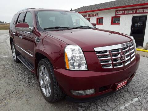 2009 Cadillac Escalade for sale at Sarpy County Motors in Springfield NE