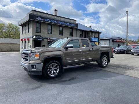2014 GMC Sierra 1500 for sale at Sisson Pre-Owned in Uniontown PA