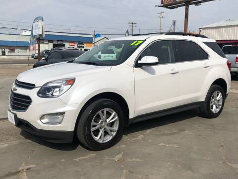 2017 Chevrolet Equinox for sale at MAGIC AUTO SALES, LLC in Nampa ID