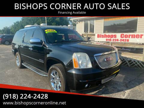 2010 GMC Yukon XL for sale at BISHOPS CORNER AUTO SALES in Sapulpa OK